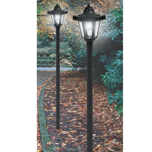 Coach Style Solar Lights - 4 Pack