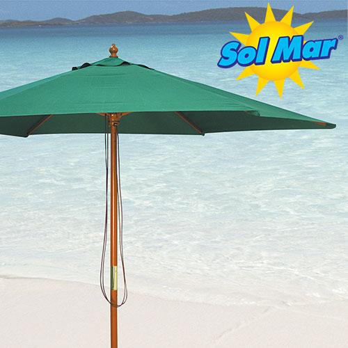 'Solmar Green Market Umbrella'