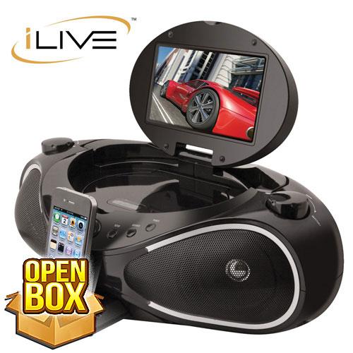 'iLive DVD Boombox'