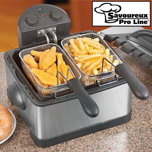 'Dual Deep Fat Fryer'
