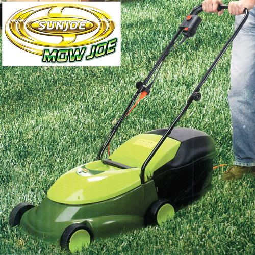 'Mow Joe Electric Lawn Mower'