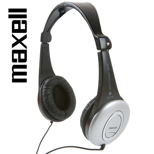 'Maxell Noise Cancelling Headphones'