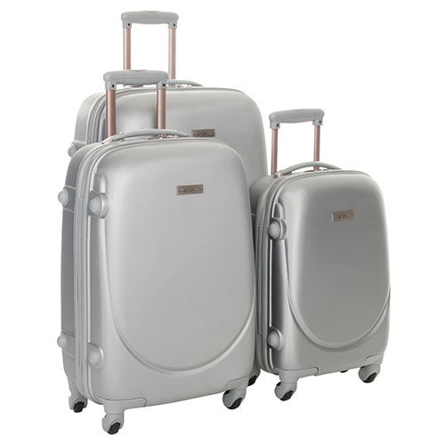 Luggagezone 3-Piece Hardside Set