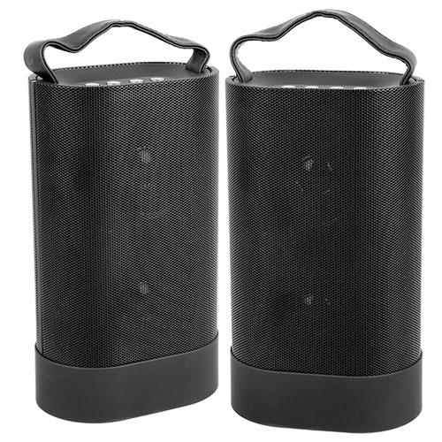 Indoor/Outdoor Bluetooth Speaker Pair