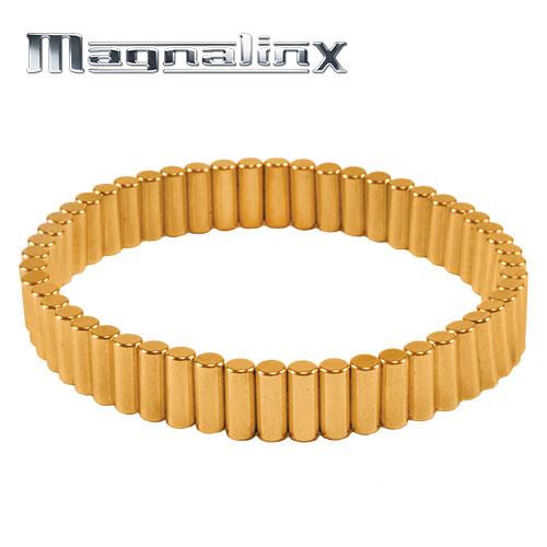 Gold Magnalinx Magnet Bracelet