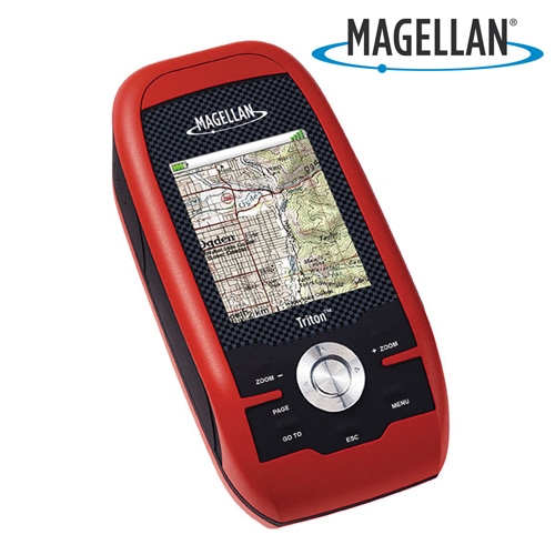 'Magellan Triton 500 GPS'