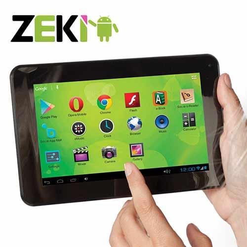 'Zeki 7 inch Dual Core Tablet'