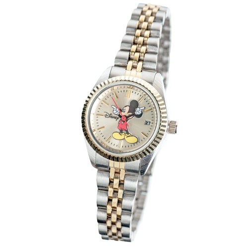Mickey Mouse 2-Tone Watch - Womens