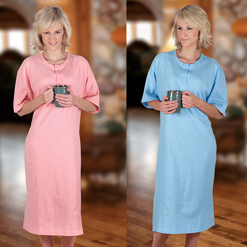 'Womens Plus Sleepshirt Set'