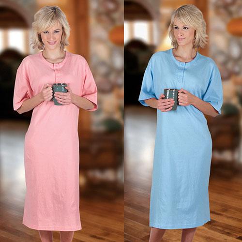 'Womens Plus Sleepshirt Set'