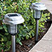 4-Pack Solar Lights with Bug Zapper